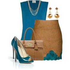 tweed and lace #Classic design.#Casually Cool!!!#