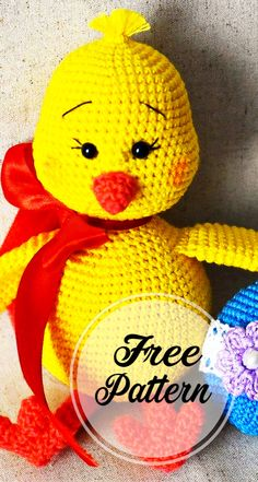 Free and Awesome Easter chick Amigurumi Ideas , amigurumi patterns free; amigurumi for beginners; Crochet Animal Amigurumi, Crochet Dolls, Amigurumi Minta, Easter Crochet Patterns, Amigurumi Patterns, How To Start Knitting, Stuffed Toys Patterns, Free Crochet, Crochet Gratis