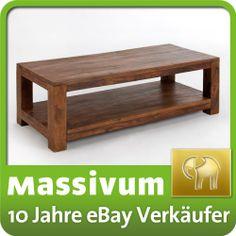 Couchtisch Cubus 110x60 honig Palisander massiv Möbel | eBay