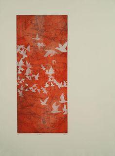 Multiple plate Intaglio print, 2011.