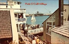 Ports O'Call Village San Pedro, California. She grew up in San Pedro and worked at a shop in Ports O'Call.