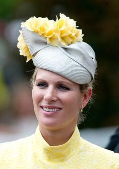 Zara Phillips Tindall, June 16, 2015 in Rosie Olivia | Royal Hats