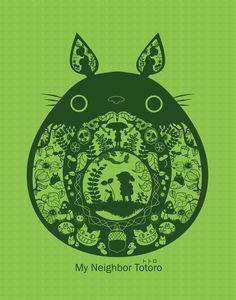 Totoro, want as tattoo.