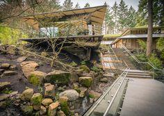 Portland Japanse Garden, Kengo Kuma's premier project in the US, opens Spring 2017