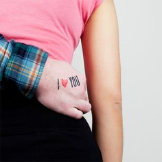 temporary tattoo site. how awesome for an engagement session or save the date!