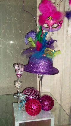 Arco de globos multicolor para carnaval decoraciones for Decoracion para carnaval