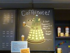 I'll take a mocha iced latte frappuccino, hold the extermination