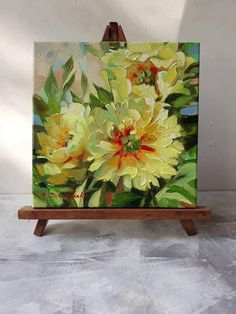 Yellow Peonies Flowers Painting Original Art Floral Oil Etsy - Yellow Peonies Flowers Painting Original Art Floral Oil Painting On Canvas Home Decor Peony Art Gift For Her Gardener Mom Made To Order I Will Paint These Peonies Just For You So It May Have S Small Canvas Art, Mini Canvas Art, Yellow Peonies, Original Art, Original Paintings, Art Paintings, Yellow Painting, Oil Painting On Canvas, Peony Painting