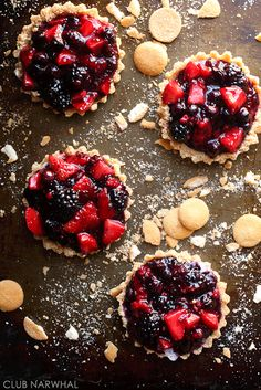 Favorite Berry Tarts | Club Narwhal