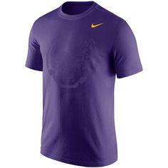 37186b2a6d7d0 Men's Nike Purple LSU Tigers Gradient Modern Sport T-Shirt Modern, Tigers De  Lsu