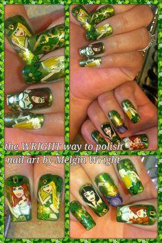 Saint Patrick's Pin Up Girls!