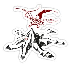 "Erebor - The Hobbit"" Stickers by Fawkes 