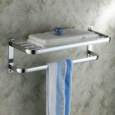 chrome finishd laiton massif avec salle de bain étagère porte-serviette CB7403 http://www.robinetfr.com/index.php?main_page=product_info&cPath=9_24&products_id=579