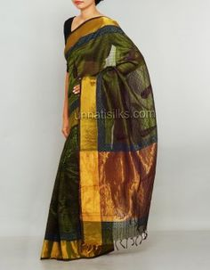 Buy Exclusive wedding party wear Chettinad silk sarees online, Unnati Silks