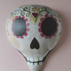 GLORIA painted gourd | Ay Mujer shop - Fine papel picado for weddings & the modern fiesta