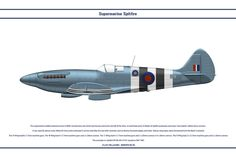 The Supermarine Spitfire entered service in WW2 and become one of the best known and iconic aircraft of the time. In total there were 24 marks of Spitfire produced, and many 'sub variants' wi...