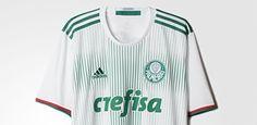 Palmeiras lança novo segundo uniforme com listras verdes