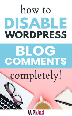 Fed up with spam and moderating your WordPress comments? This guide will show you how to disable WordPress comments completely. Wordpress For Beginners, Learn Wordpress, Blogging For Beginners, Wordpress Admin, Make Blog, How To Start A Blog, Online Blog, Make Money Blogging, Blog Tips