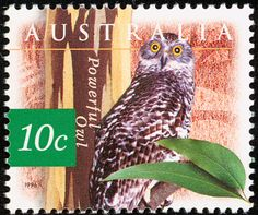 Powerful Owl stamps - mainly images - gallery format