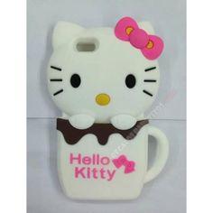 Novedad Carcasa divertida 3D silicona kitty para iPhone 6. Este accesorios es más que recomendable para proteger tu teléfono, encaja perfectamente en tu móvil.