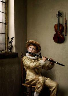 Erwin Olaf, Boy with Flute
