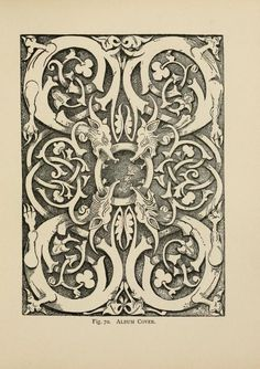 A manual of wood carving I'd like to incorporate this image into book of shadows eg. enchanted gate page  or some such concept