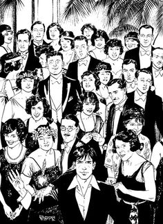"""Dylan Dog (ala the final creepy photo from """"The Shining"""")"""