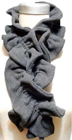 This adorable fleece scarf takes minutes to sew and has a lot of style. Grab a few different colors of fleece and sew a couple shirred fleece scarves to stay warm! Get the sewing instructions here => Cuddly Fleece Scarf Happy Sewing! Jenny T.