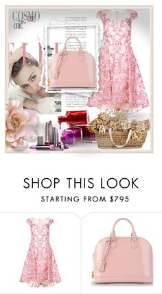 """""""Untitled #763"""" by missozlems ❤ liked on Polyvore featuring Notte by Marchesa and Louis Vuitton"""
