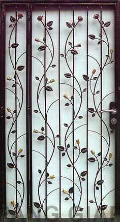 We fabricate & install Wrought Iron, Aluminium (Aluminum) & Wrought Aluminium Gates, Windows & Window Grilles (Grills), Fences, Railings etc. Window Grill Design Modern, Door And Window Design, Grill Door Design, House Gate Design, Main Door Design, Bungalow House Design, Wrought Iron Gate Designs, Window Security Bars, Metal Garden Gates