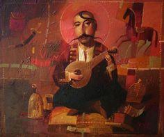 forma es vacío, vacío es forma: Alexander Antonyuk - pintura, ilustración