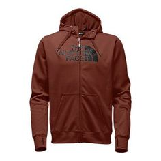 The North Face Men's Surgent Half Dome Full Zip Hoodie Sweatshirt