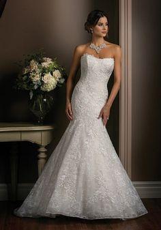 Robe de mariée sirène bustier, Jasmine Couture