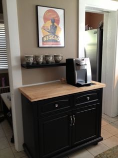 1000 Images About Kitchen Coffee Station On Pinterest