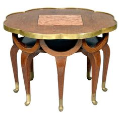 Elephant Trunk Table by Adolf Loos, ca. 1900 | From a unique collection of antique and modern dining room tables at http://www.1stdibs.com/furniture/tables/dining-room-tables/