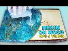 How to get awesome effects in your resin painting! Tips, tricks and supplies for… - Epoxy Resin Woodworking Organization, Easy Woodworking Projects, Diy Wood Projects, Fine Woodworking, Woodworking Furniture, Intarsia Woodworking, Woodworking Joints, Popular Woodworking, Woodworking Articles