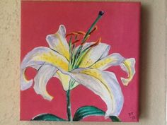 Lily Painting Lily Painting, Floral, Artwork, Ebay, Work Of Art, Flowers