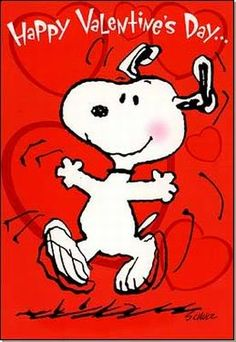 Snoopy - Happy Valentine's Day