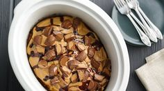 Fire up the slow cooker for 10 wintertime desserts that practically make themselves.