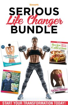 This is the ultimate e-Book bundle for the person committed to living their best life. It's everything you need to get you to the best version of you in 2019 - and beyond! Get started today. Body Transformation Program, No Carb Food List, Healthy Dinner Options, Skinny Ms, Weight Loss Surgery, Stay In Shape, Weight Watchers Meals, Total Body, Weight Loss Program