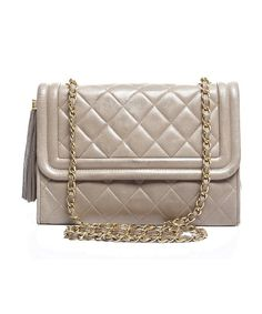 Chanel Pre-Owned Chanel Vintage Lambskin Tassel Flap Bag