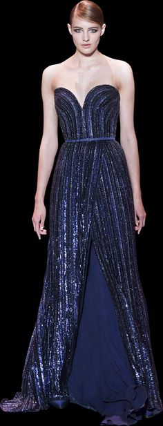 Elie Saab, haute couture fall winter 2013-2014.