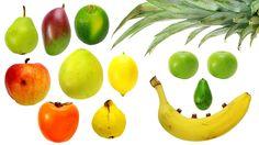 Nauka owoców dla dzieci po polsku. Naucz się na prawdziwych owocach. Zobacz owoce z każdej strony, zobacz owoce w środku.Przyjemna muzyka i aż 18 owoców, to ...