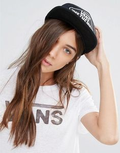 Vans Beach Girl Trucker Hat In Star Print #hat #womens