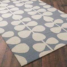 Check out Lollipop Vine Hooked Rug from Shades of Light