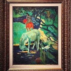 İbrahim Safi'nin Gauigen yorumu. Royal Online Art  #online #muzayede #auction #onlineauction #istanbul #instaart #instaauction #november #sonercakmak#ibrahimsafi