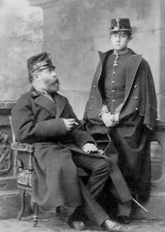 Their Imperial and Royal Highnesses Archduke Karl Ludwig of Austria (1833-1896) and Archduke Franz Ferdinand of Austria (1863–1914)