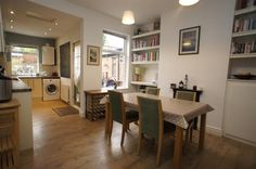 Check out this property for sale on Rightmove! Layouts Casa, House Layouts, Kitchen Extension Terraced House, Victorian Terrace Interior, Victorian House, Black White Rooms, Open Plan Kitchen Dining Living, Kitchen Conversion, Dining Room Design