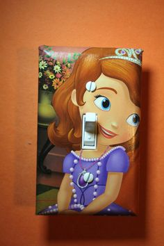 Sofia The First Light Switch Plate Cover girls by ComicRecycled
