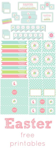 Easter Free Printables <3 www.weheartparties.com